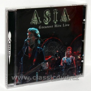 ASIA Greatest hits Live (CD)