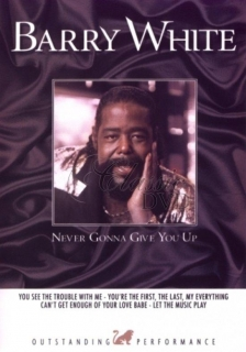 BARRY WHITE Golden Hits - Never Gonna Give You Up (DVD)
