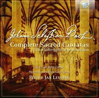 BACH,J.S.: COMPLETE SACRED CANTATAS (50CD)