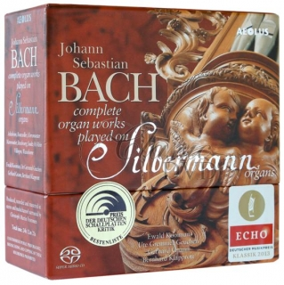 BACH Complete Organ Works on Silbermann Organs (19SACD)