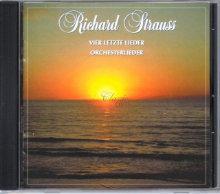 STRAUSS VIER LETZTE LIEDER/FOUR LAST SONGS; Orchesterlieder / Orchestral songs (CD)