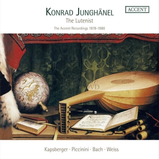 Konrad Junghänel - The Lutenist - The Accent Recordings 1978-1980 (3CD)