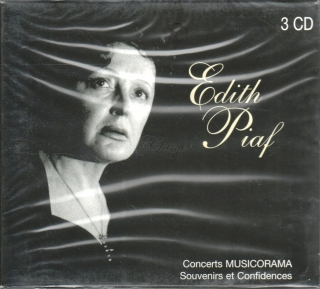 EDITH PIAF - CONCERTS MUSICORAMA (3CD)
