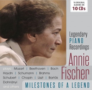 Annie Fischer - Legendary Piano Recordings (10CD)