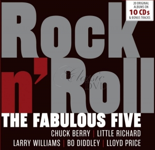 The Fabulous Five. Rock'N'Roll - DÁRKOVÁ EDICE (10CD)