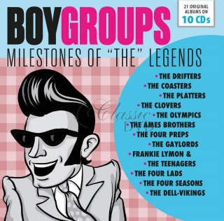 Legendary Boy Groups - Milestones Of Legends DÁRKOVÁ EDICE (10CD)