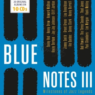 Blue Notes Vol.3 - Milestones Of Jazz Legends (10CD)
