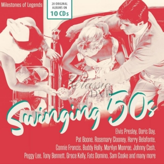 SWINGING 50S - Milestones of Legends (10CD)