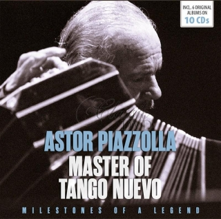 ASTOR PIAZZOLLA Master of Tango Nuevo - Milestones Of A Legend (10CD)