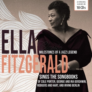 ELLA FITZGERALD - Sings The Songbooks / Milestones Of A Jazz Legend (10CD)