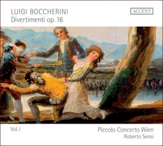 BOCCHERINI,L.: Divertimenti Op.16 Vol.1 (CD)