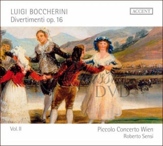 BOCCHERINI,L.: Divertimenti op. 16 (CD)