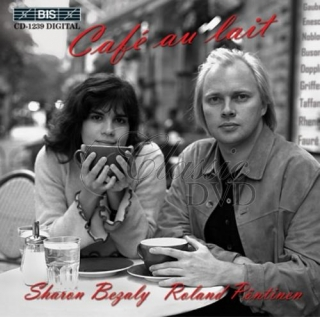 SHARON BEZALY: Café au lait - Music for Flute and Piano (CD)