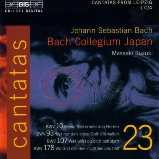 BACH,J.S.: Kantáty Vol.23 (BWV 10, 93, 178, 107) [Bach Collegium] (CD)