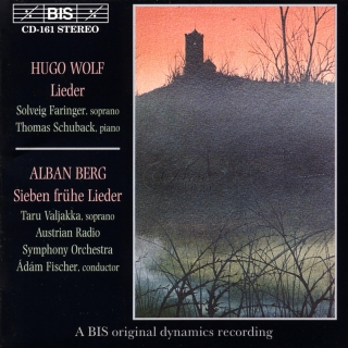 Wolf and Berg - Lieder (CD)