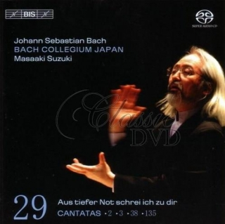 BACH,J.S.: Kantáty Vol.29 (BWV 2, 3, 38 and 135) [Bach Collegium] (SACD)