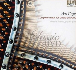 CAGE,J.: Complete Works for Prepared Piano (3CD)