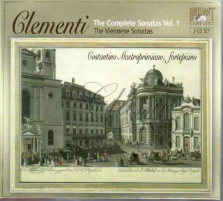 CLEMENTI,M.: Kompletní sonáty Vol.1 - The Vienese Sonatas (3CD)