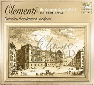 CLEMENTI,M.: Kompletní sonáty Vol.2 - The earliest sonatas (3CD)