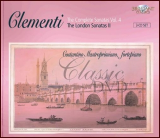 CLEMENTI,M.: Complete Piano Sonatas Vol. 4 (3CD)