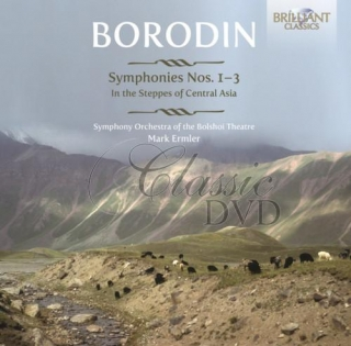 BORODIN,A.: Symphonies Nos. 1‐3 In the Steppes of Central Asia (2CD)