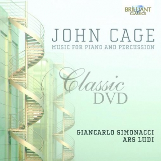 JOHN CAGE Music for Piano & Percussion. Giancarlo Simonacci, Ars Ludi Percussion Ensemble (2CD)