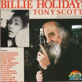BILLIE HOLIDAY: With Tony Scott (CD)