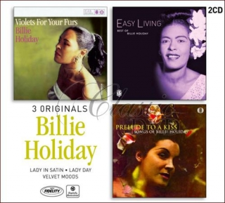 BILLIE HOLIDAY: 3 Originals - Classic Jazz Albums (2CD)