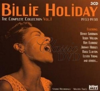 BILLIE HOLIDAY: Complete Collection Vol.1 1933-1938 (3CD)