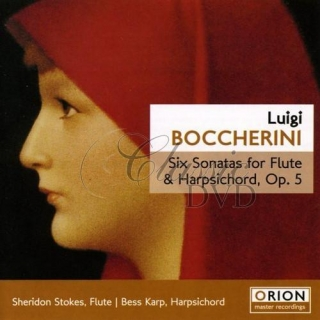 BOCCHERINI,L.: Six Sonatas for Flute & Harpsichord, Op. 5 (CD)