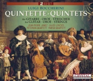 BOCCHERINI,L.: Quintets for guitar, oboe and strings (2CD)