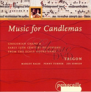 MUSIC FOR CANDLEMASS: Gregorian Chant & 13th Century (CD)
