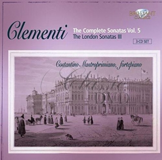 CLEMENTI,M.: Complete Piano Sonatas Vol. 5 (3CD)