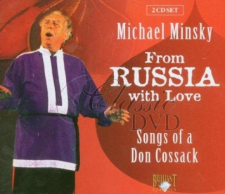 SONGS OF DON COSSACK: From Russia With Love [Minsky] (2CD)